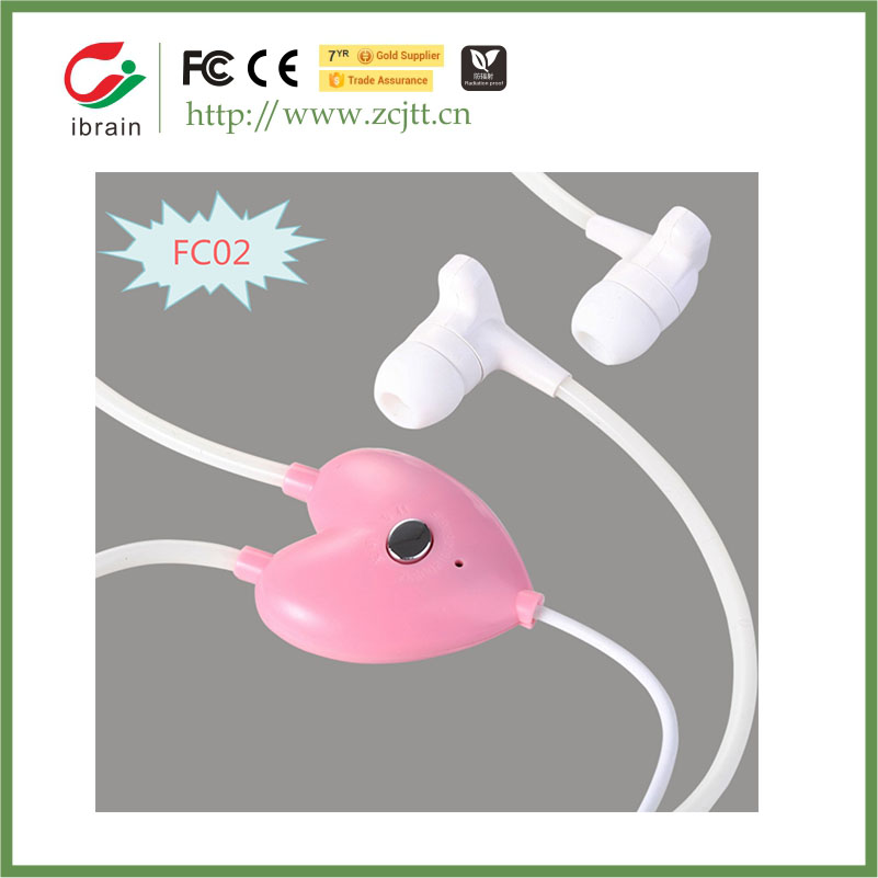 Stereo FC02 in-ear style mp3/ mp4 player wire connectors cell phone earphone