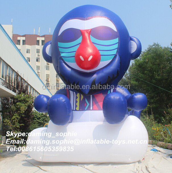 custom Inflatable monkey /Inflatable Cartoon toy for advertising
