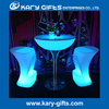 High top led bar tables modern glowing led elegant flashing tall table