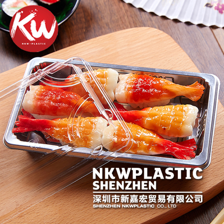 Disposable Plastic Food Box Sushi Container