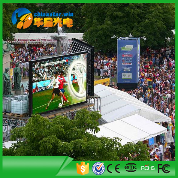Hot selling p10 full color outdoor stadium <strong>led</strong> screen <strong>displays</strong> with IP65 <strong>Led</strong> Panel