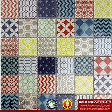 CLIO Moroccan Style Glass Mosaic Tile Encaustic Cement Stylish Glass Mosaic Tile Colorful Tile