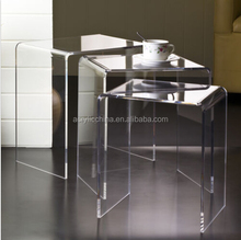 2015 High Quality Acrylic Side Table, Acrylic Occasional Table