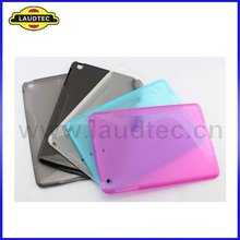 New Arrival S line TPU Gel Case Cover for ipad mini tablet