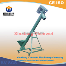 CW series good sealing easy to agglomeration material screw auger conveyor