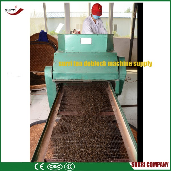 Surri Small black tea deblocking sieving machine