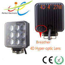 Hot selling new 27W car LED turning light,27W 4D auto car LED work light with CE