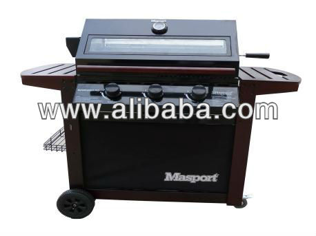 Masport Entertainer Pro Burner BBQ Grill