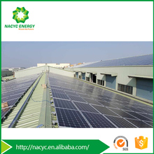 PV Solar Panel Mounting Rack Aluminum Frames for Pitched Metal Roof for Photovoltaic Panels