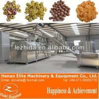 PLC controlled automatic expanded best price online complete line automatic corn flakes breakfast cereals