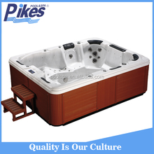 Multifuntion Luxury TV 68Massage Jets Family Acrylic Outdoor whirlpool spa hot tub