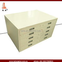 China Office Furniture A1 Filing 5 Drawers Traditional Plan chest Stationary Plan Filing and Drawing Chests