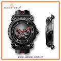 Assisi brand excitement sport design classic sapphire crystal glass watch
