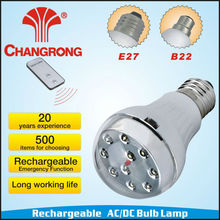 led bulb huizhuo lighting rechargeable emergency battery operated light