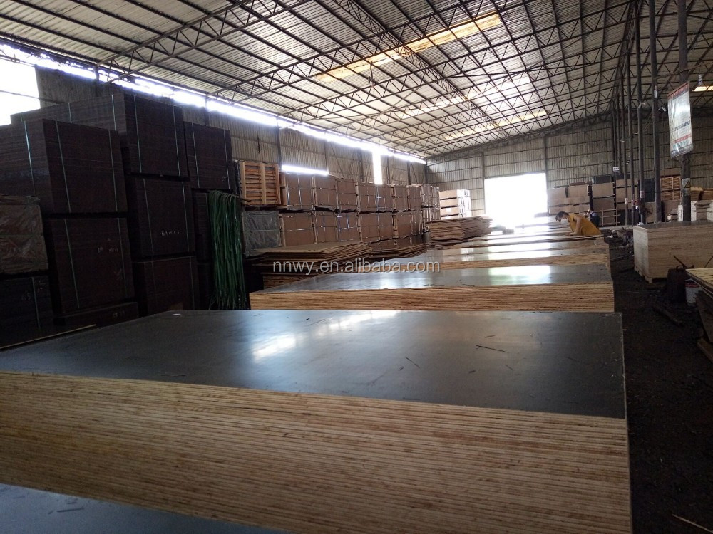 11 ply 18mm laminated plywood for concrete formwork