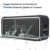 NFC 10W Outdoor Portable Wireless Stereo Handsfree Mobile Power Bank Waterproof Bluetooth Speaker With Mic For iPhone Samsung