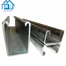 Metal Building standard sizes GI galvanized Steel C Purline C Channel