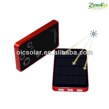 6000mAh Portable USB Solar Mobile Battery Charger For iPhone/Samsung/Cell Phone