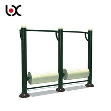 Fitness Equipment Outdoor Double Whirlwind Wheel Sports Equipment