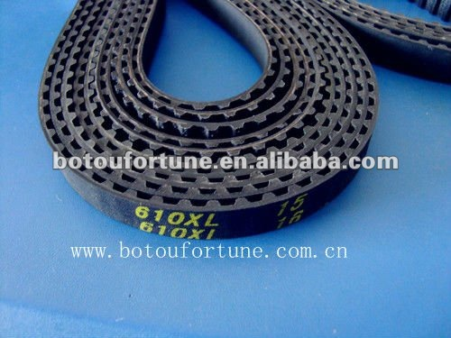 XL round timing belt length 610mm rubber timing belt