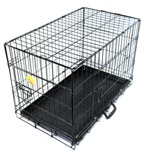 New arrival folding mesh fabric pet cage