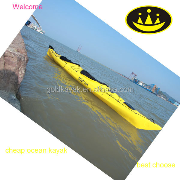 Double sea kayak for ocean from Gold Kayak Manufacturer