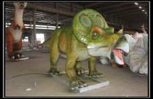 Customized amusement playground equipment animatronic dinosaur