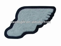 SPORT WING FOOT CHENILLE PATCHES