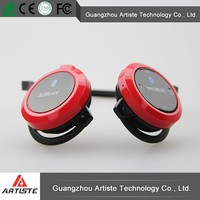 wireless device for the cell phone:new smallest elastic colorful stereo headphone in guangzhou with noise canceling function