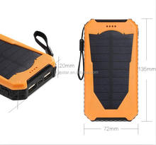 New Arrival 4000mah Solar Power Bank with LED flashlight,solar power bank charger innovative products for import