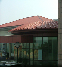 spanish synthetic resin roof tile clay roof ridge tile