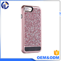 new products hot in US market phone case China factory manufacturing diamond phone case for iphone 7