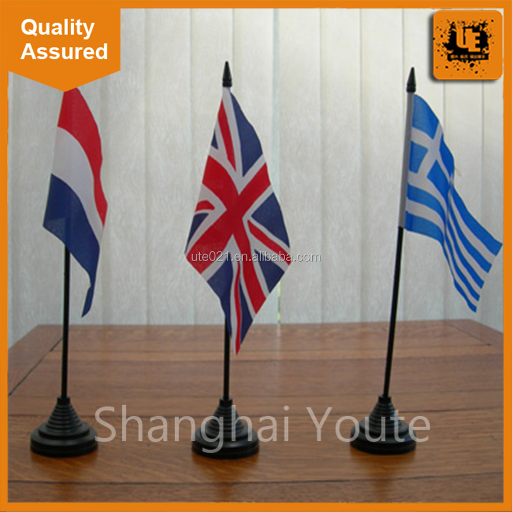 Most famous China manufacture for table country flag printing with factory price