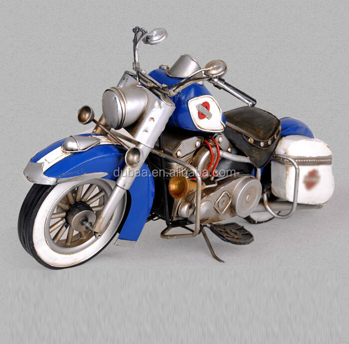 Birthday Christmas Decoration Gift Hand Made Metal Art Motorcycle Model Crafts