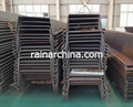 600-750mm cold rolled U type steel larsen sheet pile