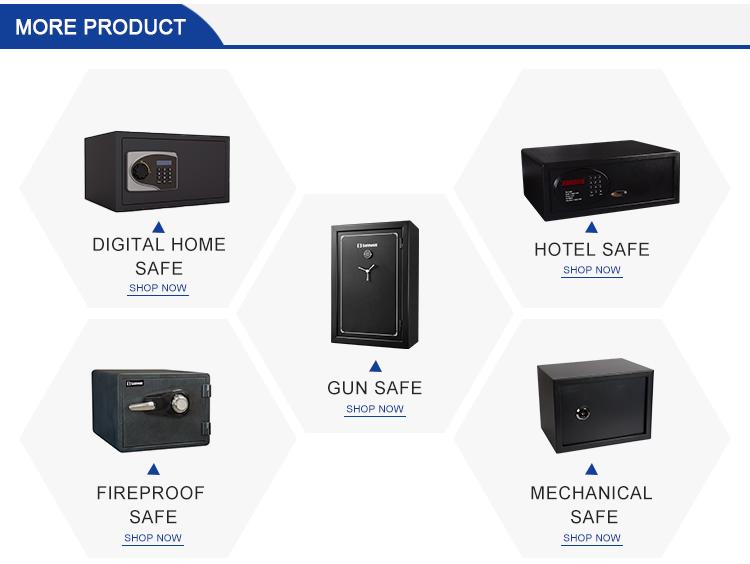Safewell KS-700 Hostel Office usar chave eletrônica chave do armário seguro
