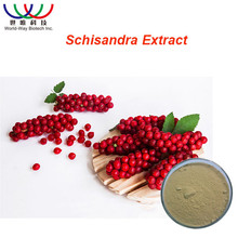 China Supplier Liver Protection Herb Extract 2% ~ 9% Schisandrins Wu Wei Zi Schisandra Chinensis berry Extract Powder