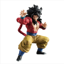lifelike beautiful Japanese dragon ball z super saiyan 4 resin Sun Goku figurine for sale