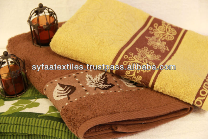 Pakistan Supreme Quality Made Jacquard Towel