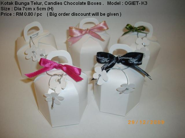 Chocolates Gift Boxes For Wedding in Malaysia