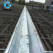 Greenhouse Rain Gutter with High Quality