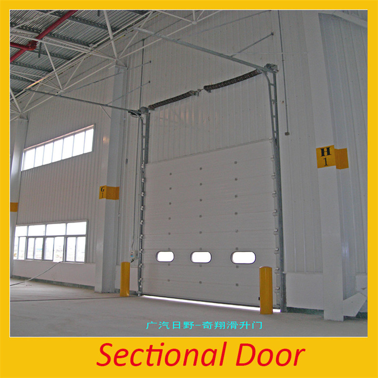 Modern plants Industrial Sectional Door insert door