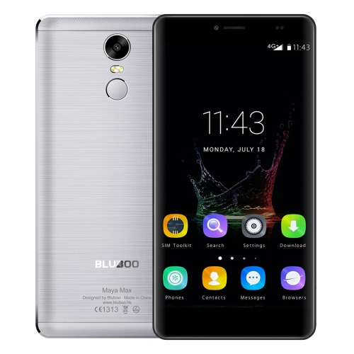 Original BLUBOO Maya Max 6.0 inch Android 6.0 MTK6750 Octa Core 3GB RAM 32GB ROM 4G Smart Phone with Same day shipping