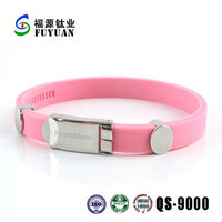Hot Sale Silicone Bracelets With Magnet