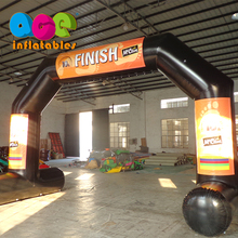 Custom outdoor event finish line inflatable arch tent