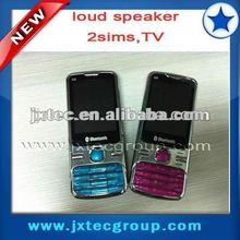 2013 hot cheap china quad band 2 sim TV cell phone Q9