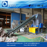 1500kg/h-2000kg/h waste pet plastic drink bottles crusher with CE/ISO/SGS certificate