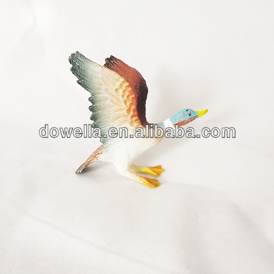 small bird toy figures for promotion gift toys 3D craft figure toys