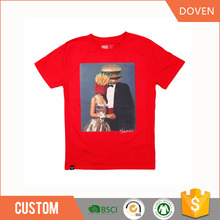 OEM organic 100% cotton t shirt boys t shirt in china