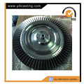 Inconel material turbine wheel Diesel Engine parts for ALCO, G.E., GM-EMD